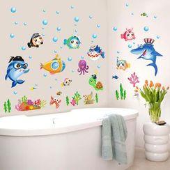 Citadin - Underwater World Wall Sticker