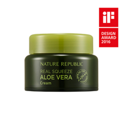 Nature Republic - Real Squeeze Aloe Vera Cream 50ml