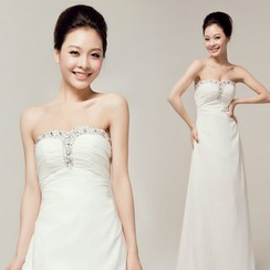 Gracia - Rhinestone Wedding Dress