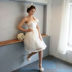Gracia - Bow-Tie Bridesmaid Dress