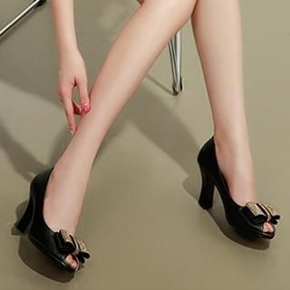 Exull - Bow-Accent Pumps