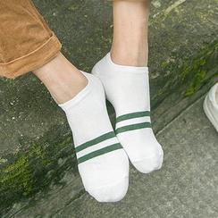 MUMBLE - 条纹短袜