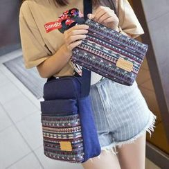 VIVA - Pattern Canvas Cross Bag