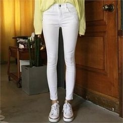 QNIGIRLS - Colored Skinny Pants