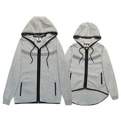 HappyTee - Drawstring Couple Hoodie