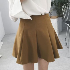 Tiny Times - Pleated A-Line Skirt