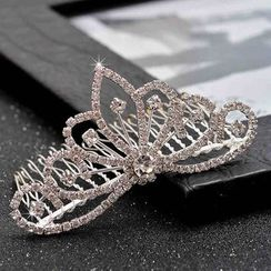 Best Jewellery - Rhinestone Tiara Hair Comb