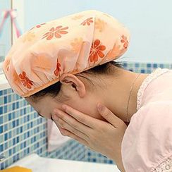 Lazy Corner - Floral Print Shower Cap