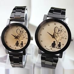 YAZOLE - Couple Matching Bracelet Watch