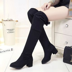 Sunsteps - Block heel Over The Knee Boots