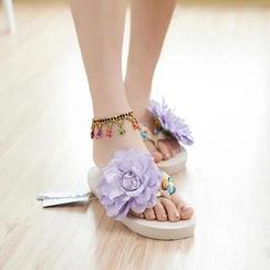 Trava - Flower Flip-Flops