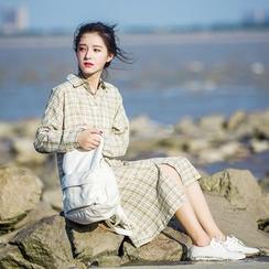 Onyu - 格子衬衫连衣裙