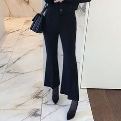 Seoul Fashion - Boot-Cut Dress Pants