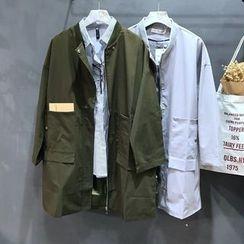 YENSI - Plain Long Jacket