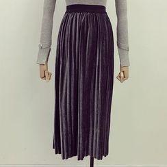 Honeydew - 絲絨短裙