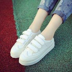 QQ Trend - Platform Velcro Sneakers
