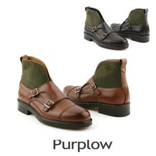 Purplow - Monk-Strap Boots