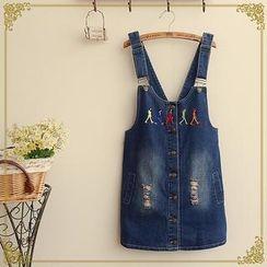 Fairyland - Embroidered Jumper Skirt