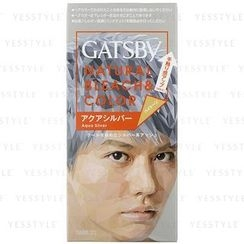 Mandom 漫丹 - Gatsby Natural Bleach & Color (Aqua Silver)