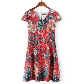 JVL - Floral A-Line Dress