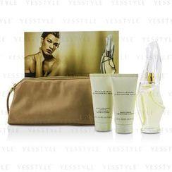 DKNY - Cashmere Mist Coffret: Eau De Parfum Spray 100ml/3.4oz + Body Cleansing Lotion 75ml/2.5oz + Body Creme 75ml/2.5oz + Bag