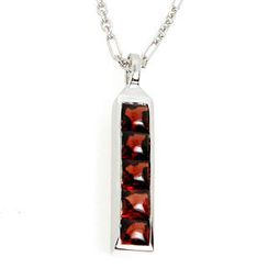 Bellini - Garnet Growth Pendant