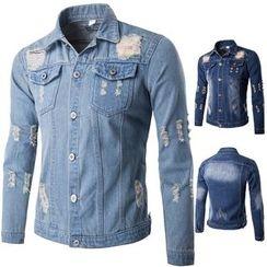 Fireon - Distressed Denim Jacket
