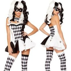 Gembeads - Argyle Halloween Circus Party Costume
