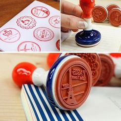 Tivi Boutique - Set: Vintage Stamp + Ink Pad