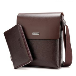 DANTEN'S - Faux Leather Flap Shoulder Bag / Long Wallet