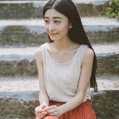 兰芝 - 纯色背心