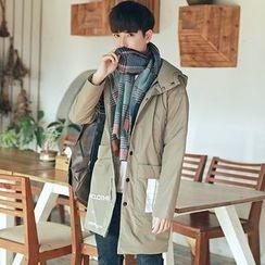 Chic Maison - Hooded Padded Coat
