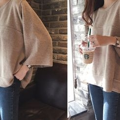 DAILY LOOK - Tie-Back Wool Blend Knit Top