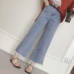 Munai - Wide-Leg Jeans