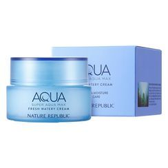 Nature Republic - Super Aqua Max Fresh Hydrating Cream - For Oily Skin