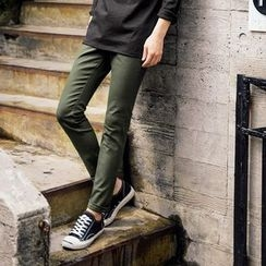 MEOSIDDA - Colored Tapered Pants