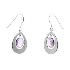 Bellini - Amethyst Inspiration Earrings