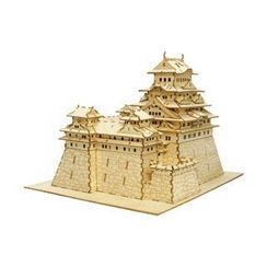 Team Green - Plywood Puzzle - Himeji Castle