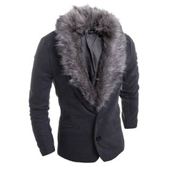 Hansel - Removable Faux Fur Blazer