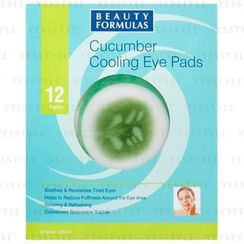 Beauty Formulas - Cucumber Cooling Eye Pads