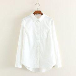 Mushi - Dip Back Shirt
