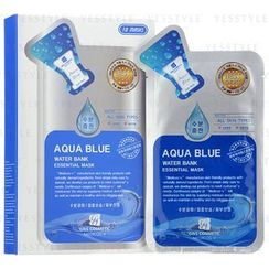 G & S Cosmetic - Aqua Blue Water Bank Essential Mask