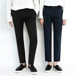TOMONARI - Couple Tapered Dress Pants