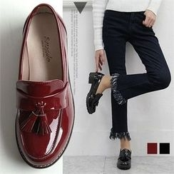Reneve - Tasseled Patent Loafers