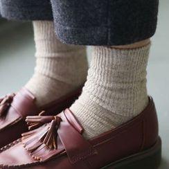 Rooftop Sonata - Plain Socks