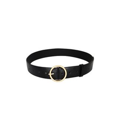 DABAGIRL - Hoop-Buckle Faux-Leather Belt