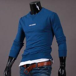 Seoul Homme - Long-Sleeve Printing T-Shirt