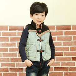 Lullaby - Kids Stand Collar Padded Vest