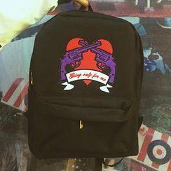 Sacca - Applique Backpack