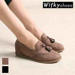 Wifky - Wing-Tip Tasseled Loafers